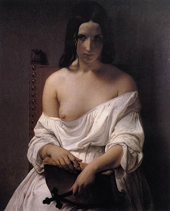 Meditation on the History of Italy by Francesco Hayez