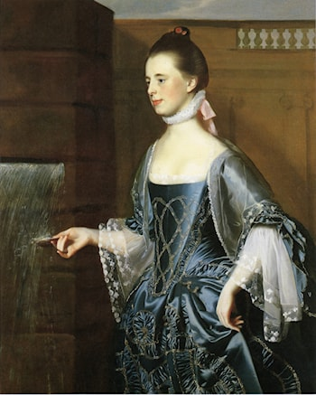 Mrs. Daniel Sargent (Mary Turner Sargent) by John Singleton Copley