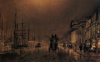 Liverpool Docks by Richard Thomas Moynan