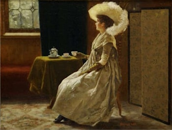 Afternoon Tea by Richard Thomas Moynan