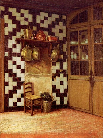 Flemish Kitchen by Francis Davis Millet