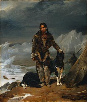 A Woman from the Land of Eskimos by Leon Cogniet