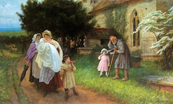The Christening Party by Philip Richard Morris