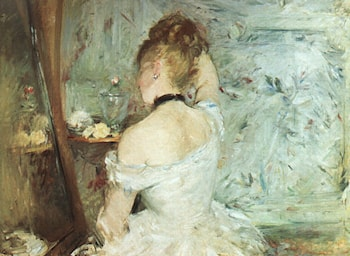 A Woman at her Toilette by Berthe Morisot