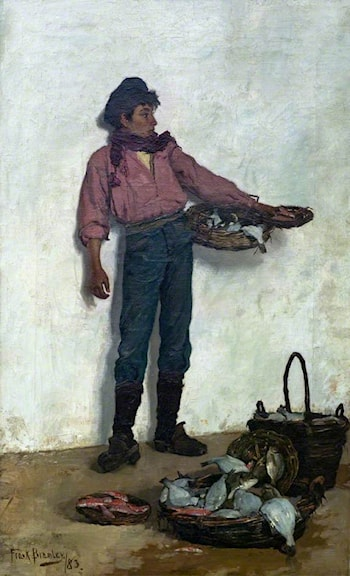 Neapolitan Fisher Boy by Frank Bramley