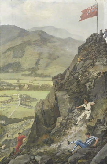 Grasmere Fell Races by Frank Bramley