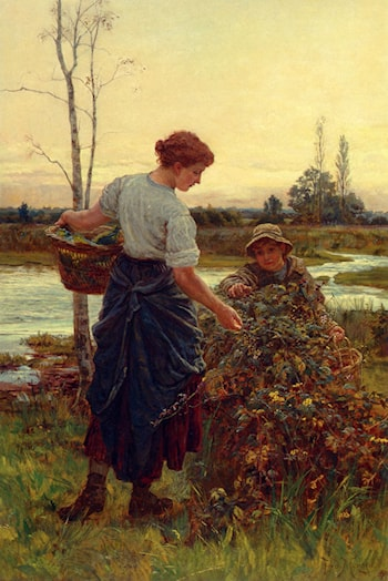 The Harvest by Frederick Morgan