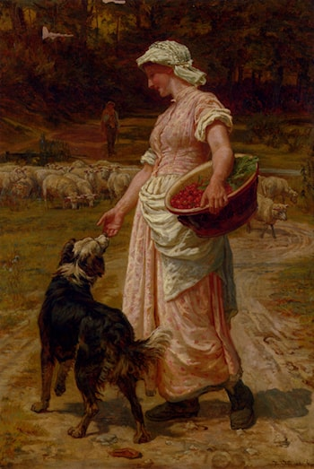 Love Me, Love My Dog by Frederick Morgan
