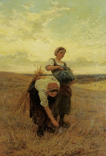 The Gleaners by Frederick Morgan