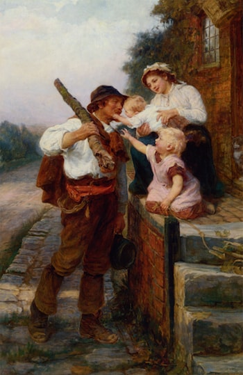 A Fathers Return by Frederick Morgan
