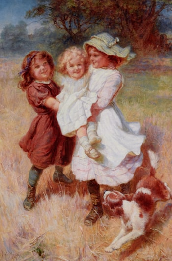 Good Friends by Frederick Morgan