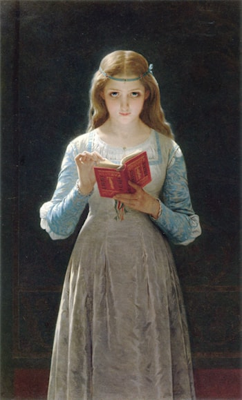 Pause for Thought by Pierre-Auguste Cot