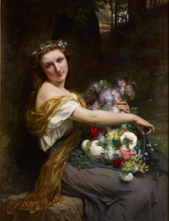 Dionysia by Pierre-Auguste Cot