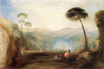 Golden Bough (after Joseph Mallor William Turner) by Thomas Moran