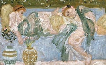 End of a Sofa by Albert Joseph Moore