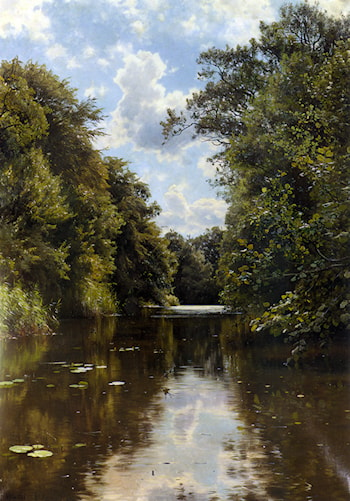 A Summer's Day by Peder Mork Monsted