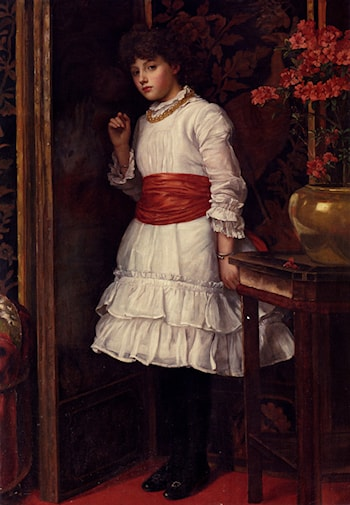 The Red Sash by Maria Matilda Brooks