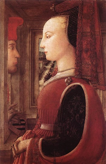 Portrait of a Man and a Woman by Fra Filippo Lippi