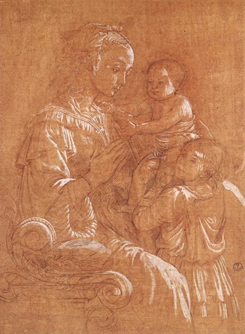 Madonna with the Child and two Angels by Fra Filippo Lippi