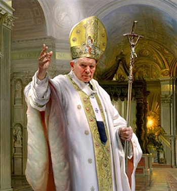 Pope John Paul II by Nelson Shanks