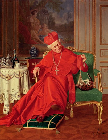 His Eminence's Friend by Andrea Landini