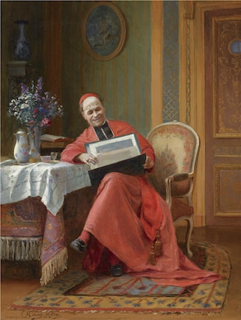 The Connoisseur by Victor Marais Milton