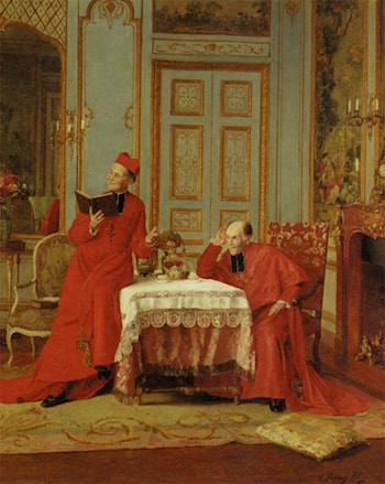 The Sermon by Victor Marais Milton