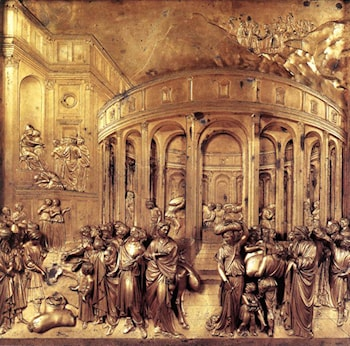 The Story of Joseph: Discovery of the Golden Cup by Lorenzo Ghiberti