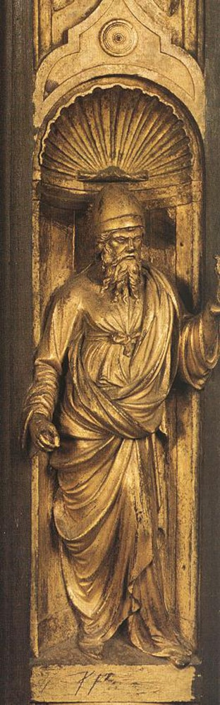 Biblical Person by Lorenzo Ghiberti