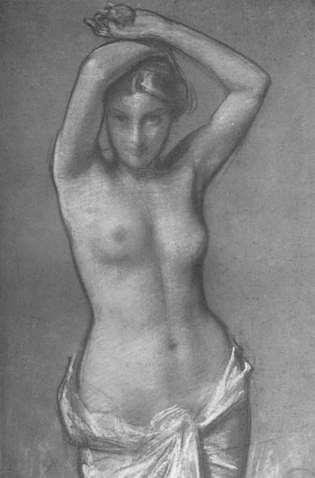 Study for a Painting by Harold Speed