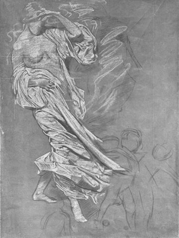 Study of a Draped Woman by Harold Speed
