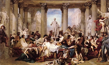The Romans of the Decadence by Thomas Couture
