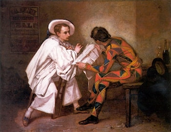 Pierrot the Politician by Thomas Couture