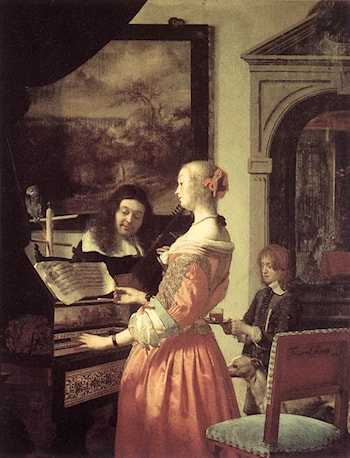 Duet by Frans van Mieris