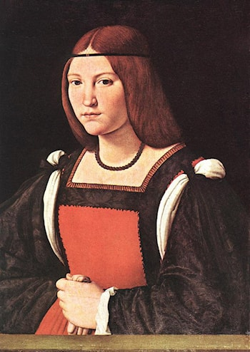 Portrait of a Young Woman by Giovanni Antonio Boltraffio