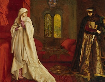 Fair Rosamund and Eleanor by Frank Cadogan Cowper