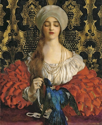 The Blue Bird by Frank Cadogan Cowper
