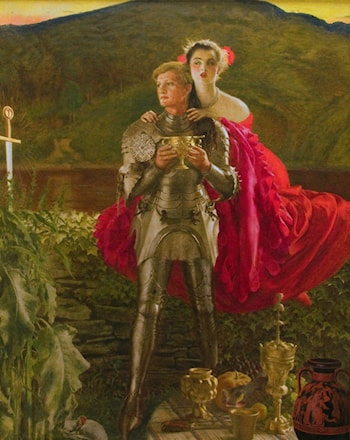 The Legend of Sir Perceval by Frank Cadogan Cowper