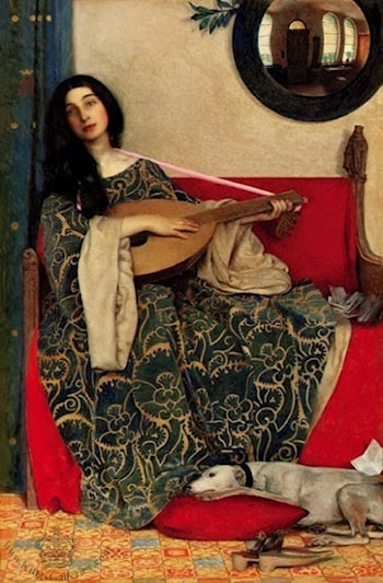 Mariana in the South by Frank Cadogan Cowper