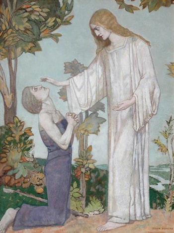 'According to your faith be it unto you' by John Duncan