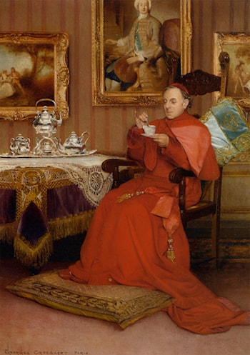 Tea Time by Georges Croegaert