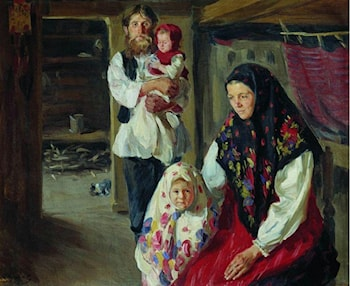 A Forester's Family by Ivan Semenovich Kulikov