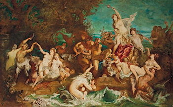 The Triumph of Ariadne (after Hans Makart) by Karl Zadnik