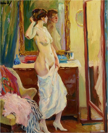 The Looking Glass by Edward Cucuel