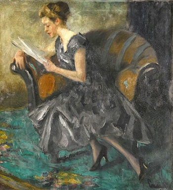 The Girl in the Interior by Edward Cucuel