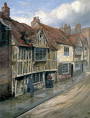 All Saints Street by Charles Ernest Butler
