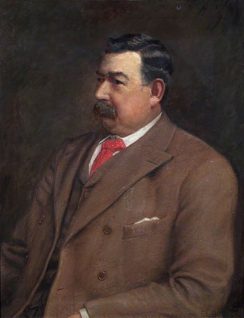 Councillor William Matthews by Charles Ernest Butler
