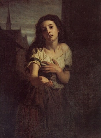 A Beggar Woman by Hugues Merle