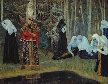 The Legend of the Invisible City of Kitezh by Mikhail Nesterov