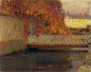 The Bridge by Henri Le Sidaner
